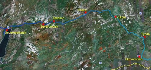 Siberia 8: Tynda, Yuktali, Chara, Taksimo, Severobaikalsk