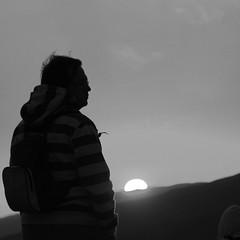 (Color-de-la-vida) Tags: sunset bw silhouette desert noiretblanc wadirum bn jordan desierto coucherdesoleil jordanie jordania pdt colordelavida siloueta