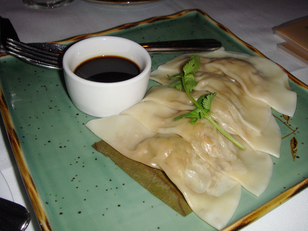 Steamed Seafood Dumplings
