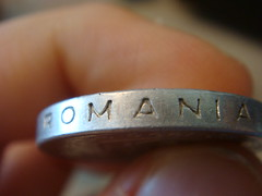 Romania (CameliaTWU) Tags: money coin coins edge rim thick romanian rimofcoin edgeofcoin thickcoin 500lei