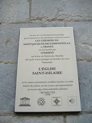 Saint-Hilaire (edera) Tags: novembre chiesa 2009 eglise poitiers sainthilaire