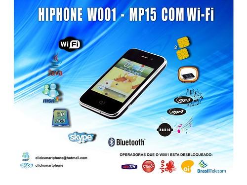 Hiphone W001 - Valor R$ 385,00