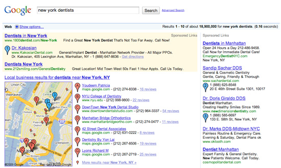 AdWords Maps