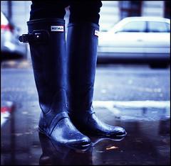 Boots (Falcks) Tags: water rolleiflex mediumformat boots hunter e100vs planar 75mm 35f
