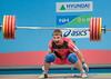 lahun85_3721 (Rob Macklem) Tags: china men olympic 2009 lu 85kg olympicweightliftingkoreaworldchampionshipsgoyangcity