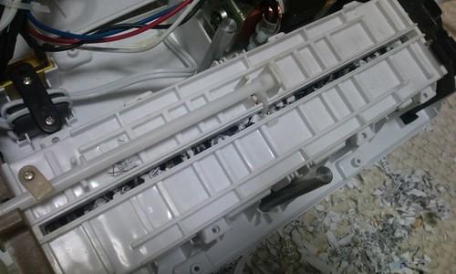 シュレッダー修理