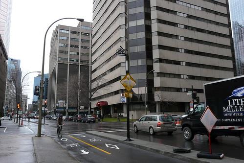 Central Montreal Bike Lanes