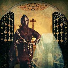 The Knight's Obedient Bride (amarcord108) Tags: digitalart award hypothetical iniciatic awardtree amarcord108 graphicmaster miasbest daarklands flickrvault trolledproud crazygeniuses exoticimage