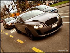 Bentley continental GT Supersport (GenevaSpotter) Tags: auto england car sport design geneva geneve performance continental super british gt supercar bentley spotting supercars gts supersport gtc supersports spotter perfo genevaspotter sportrive