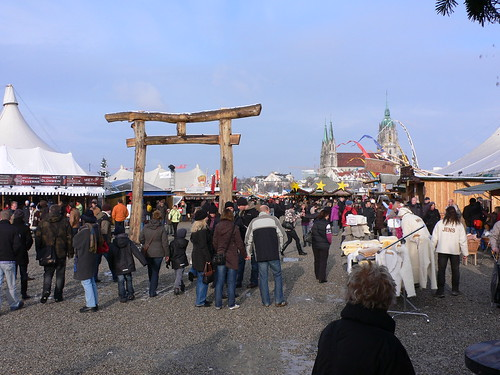 Tollwood winter festival in Munich