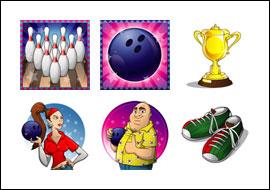free Bob's Bowling Bonanza slot game symbols