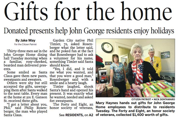 gifts for john george home