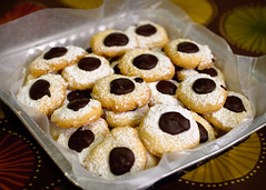 Sand  Tarts with Chocolate -Drops-