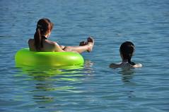 Charting The Course (Ctuna8162) Tags: girls vacation water japanese hawaii waikiki tubes tourists bikini honolulu tubing floats plasticwatertoys outoforderagaindarnit