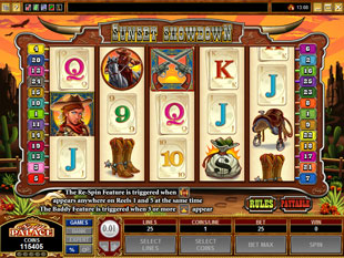 Sunset Showdown slot game online review