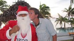 Santa and Greg!