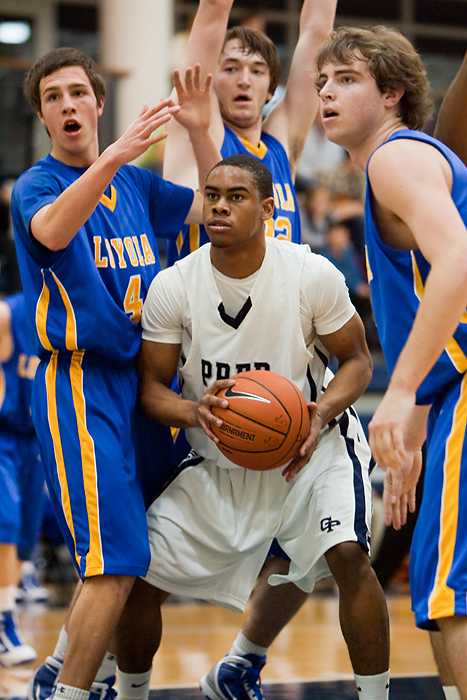 Georgetown Prep Basketball Markel Starks