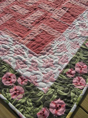 Garden Fresh Quilt detail