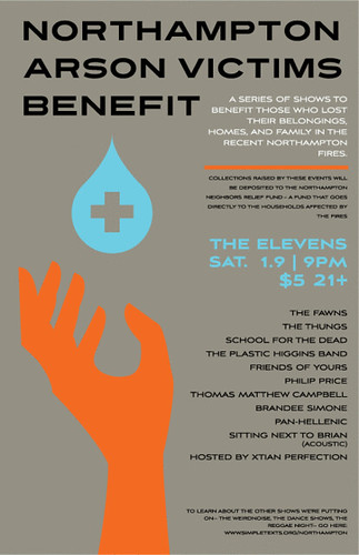 Fire Benefit Poster