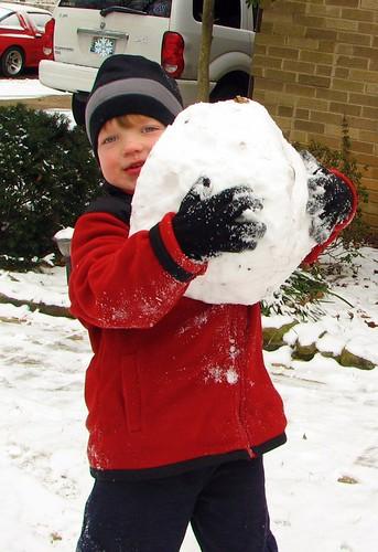 Snow man starters