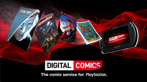 PlayStation Digital Comics Banner
