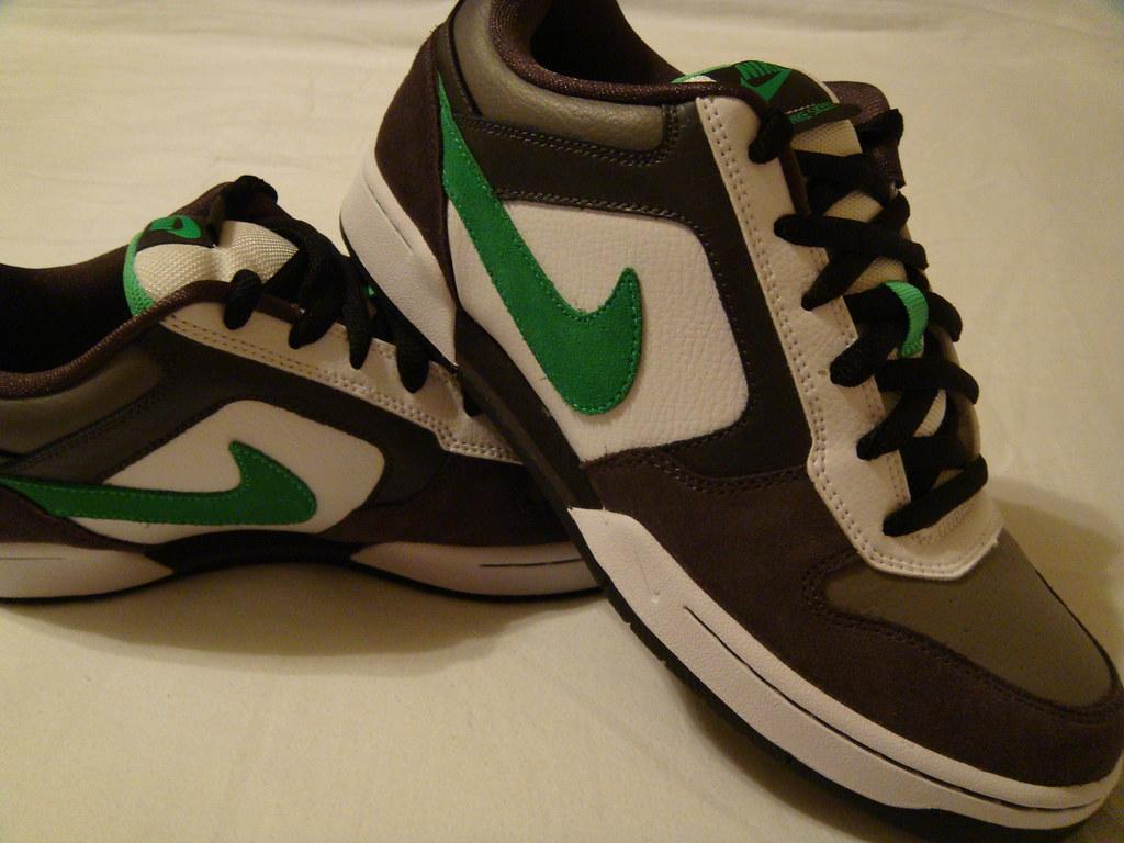 7004941ae49625 Skeet Side (UnholyKnight) Tags  white black green shoes nike skeet