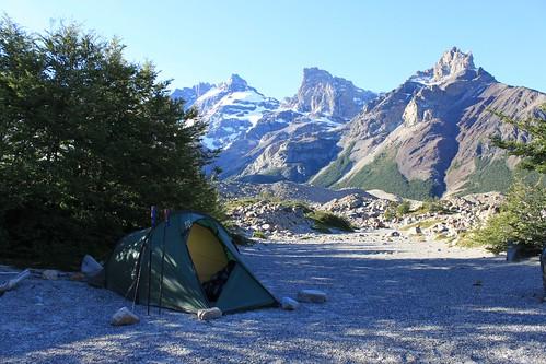 Camping at Laguna Torre