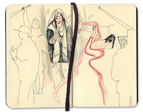 Слушаю Yasmin Levy в метро
