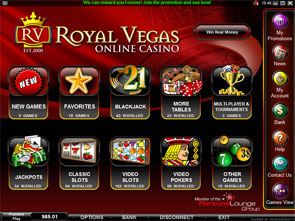 royal vegas online casino reviews