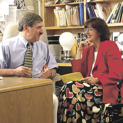 Husband and wife, Joseph Renzulli and Sally Reis, are Distinguished Professors of Gifted Education at the Neag School of Education and are nationally renowned for the research and scholarship.