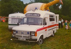 Yorkshire Regional Ambulance Service (barronr) Tags: england yorkshire ambulance caravan harrogate gala bilton firstaid gamefair privateambulance yorkshireregionalambulanceservice