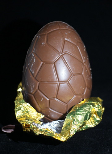 Large Divine Milk Chocolate Easter Egg With Marc De Champange Truffles Disrobed by Chocolate Reviews.