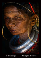 INDIA (BoazImages) Tags: portrait india asia indian culture documentary tribal ornaments jewelery tradition tribe ethnic eastern orissa indigenous ethnicity ghats gadaba unknownfaces lpold colorphotoaward infinestyle boazimages