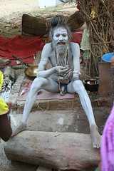 naga sadhu at rajim kumbh= (mohan lal bhaya) Tags: from travel came ton tailand itim raipur parita