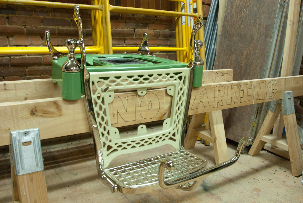 Seat base and articulated footrest