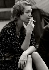 Englishwomen_019-BW (The-Wizard-of-Oz) Tags: london sitting smoking englishwoman