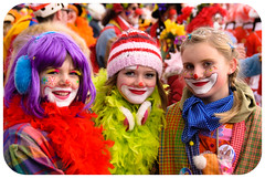 Next generation II (manganite) Tags: carnival girls portrait people color girl fashion catchycolors germany children geotagged costume kid nikon funny colorful europe bonn child tl iso400 framed clown young festivals makeup vivid posing frame highsaturation nrw cropped d200 lightroom northrhinewestphalia nikond200 f48 18200mmf3556 manganite 1640sec date:day=15 date:month=februar date:year=2010 carnivalbonn2010 geo:lat=50733466 geo:lon=709399 1640secatf48