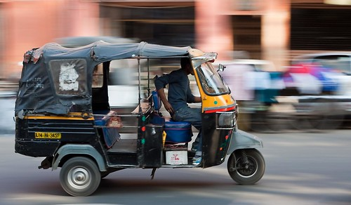 Best Cities to Travel to in India - Rickshaw in India