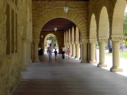 IM000543 史丹佛大学古老的建筑