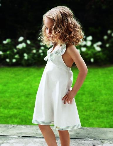 Moda infantil verano 2010 para niña, Chloé