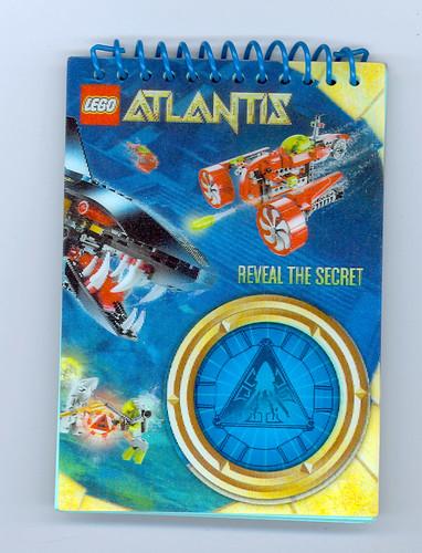 LEGO Atlantis Notepad Promo 4586603