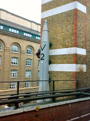 V2 Rocket London Bridge