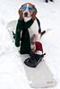 261/365 Silly Floyd (Paguma / Darren) Tags: winter dog snow scarf goggles hound fourseasons snowboard floyd