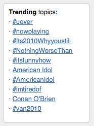 Trending Again