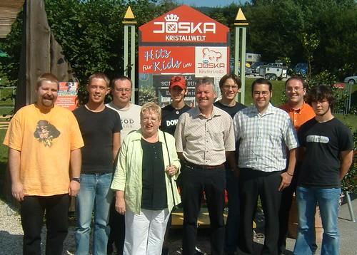 2005-09-04 | Jusos Niederbayern besichtigen Joska in Bodenmais