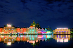 Daily Disney - Boardwalk at Night (Explored) (Express Monorail) Tags: longexposure travel walter vacation usa reflection water colors night america wonder geotagged fun psp lights interestingness orlando swan nikon rss florida availablelight magic tripod dream vivid wed elias disney mickey disneyworld fantasy mickeymouse imagine theme wish orangecounty dancehall wdw waltdisneyworld walt magical kissimmee themepark waltdisney d300 wdi lakebuenavista imagineering theboardwalk jellyrolls baylake flickrexplore waltdisneyworldresort duelingpianos explored disneypictures disneyparks disneypics expressmonorail crestothewave disneyphotos paintshopprophotox2 disneysboardwalkhotel waltdisneyworldswan joepenniston disneyphotography geo:lon=8155632 disneyimages geo:lat=28370265