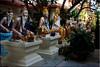 พระฤๅษี (Ursula in Aus (Away Travelling)) Tags: statue tattoo thailand yantra tattooing waikhru nakhonpathom นครปฐม ประเทศไทย sakyant tattoofestival รอยสัก watbangphra nakhonchaisi earthasia nakhonchaisri totallythailand วัดหลวงพ่อเปิ่น ครู รูปสัก วัดบางพระ ลายสัก สักยันต