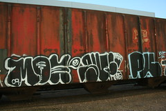 (action word) Tags: train graffiti moe mta freight sufer 125 kyt puzl