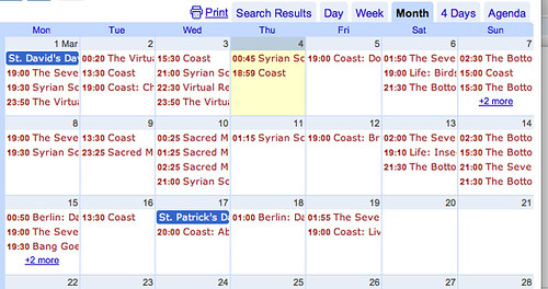 Updating Google Calendars from a Google Spreadsheet | OUseful.Info ...