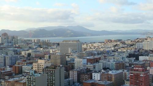 Vista diurna dall'hotel